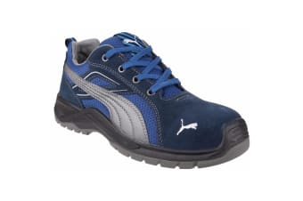 Puma Safety Mens Omni Sky Low Lace Up Safety Shoe (Blue)
