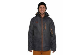 XTM Adult Male Snow Jackets Mason Mens Jacket Black Denim - XL