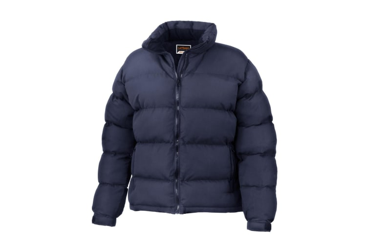 Result Womens/Ladies Urban Outdoor Holkham Down Feel Performance Jacket (Navy Blue) (XS)