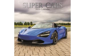 Super Cars - 2020 Wall Calendar 16 month Premium Square 30x30cm (Y)