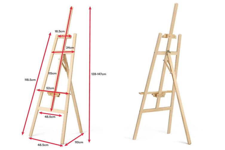 110cm Pine Wood Painting Easel