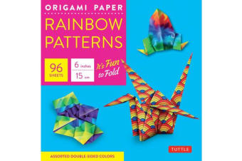 Origami Paper - Rainbow Patterns