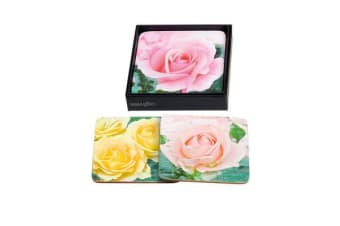 Ogilvies Designs Rose Garden Coasters Set of 6