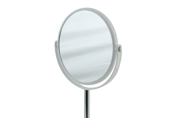 Salt & Pepper Suds Double-Sided Mirror 30cm White