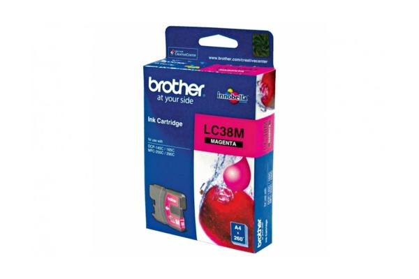 Brother LC-38M Magenta Ink Suits DCP-165C