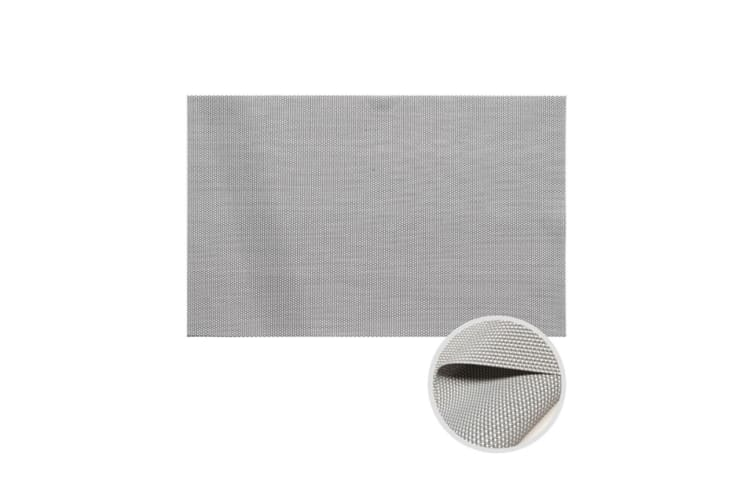 Pvc Table Cushion For The Protection Of Insulation Table Mat White Grey
