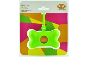 Bon Ton Fluro Poop Bag Holder Green