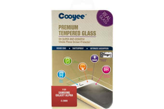 Screen Protector- Galaxy Alpha Tempered Glass - Samsung
