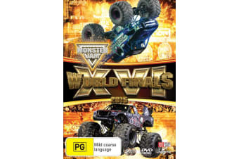 Monster Jam World Finals 2015 XVI DVD Region 4