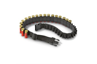 Atacpro Clip-on 12g Shotshell Holder 25pcs With Belt Combo Pack