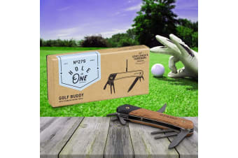 Golf Buddy 7-in-1 Titanium Multi Tool | Everything a Golfing Man Needs