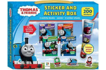 Thomas and Friends Sticker and Activity Box