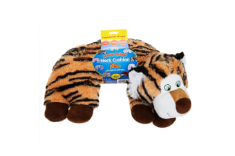 Home & Living Luxury Animal Travel Cushion (Tiger) (One Size)
