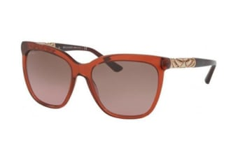 Bvlgari BV8173B 540014 56 Transparent Gradient Brown Womens Sunglasses