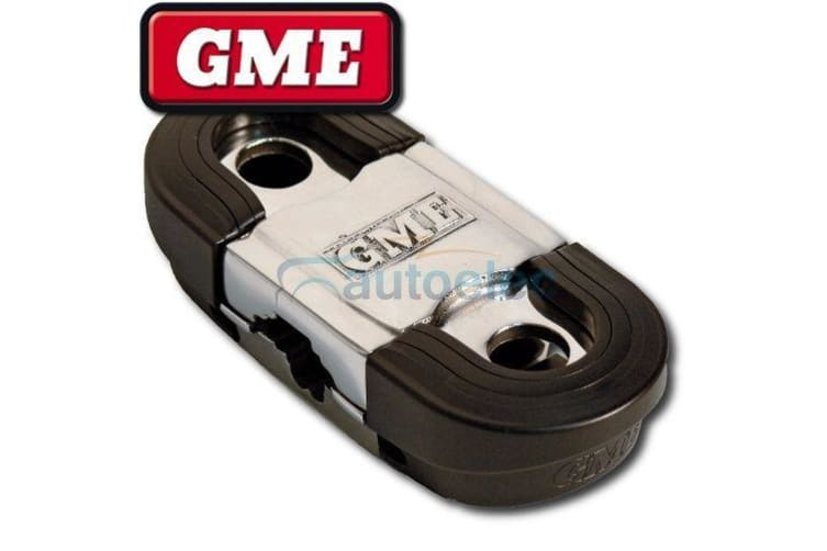 GME MIRROR MOUNT BRACKET TWIN ANTENNA AERIAL UHF CB STAINLESS MB035 ROOF RACK