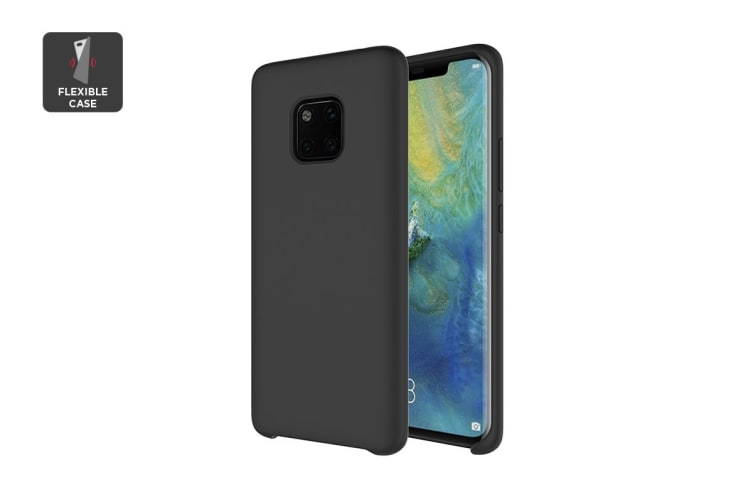 new styles 1e30b b7dff Huawei Mate 20 Pro Silicone Case - Black