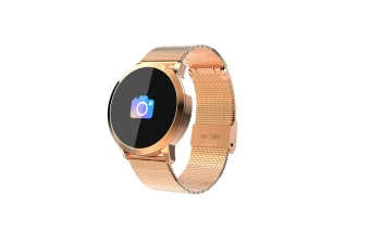 Q8 Smart Watch for Monitoring Heart Rate and Blood Pressure  GOLD