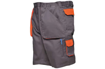 Portwest Mens Contrast Workwear Shorts (Charcoal)