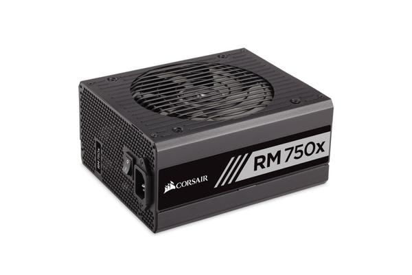 Corsair 750W RMX 80+ Gold Fully Modular 135mm FAN ATX PSU 10 Years Warranty