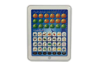 Select Mall Dot Reading Machine Puzzle Early Education Machine Toy Tablet Learning Machine for Children-Blue