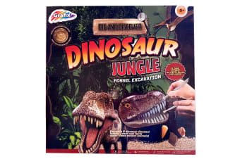 Grafix Dig N Discover Dinosaur Jungle Excavation Kit
