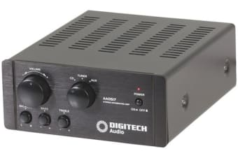 DIGITECH 2x20WRMS Stereo Amplifier with 3 way input selection