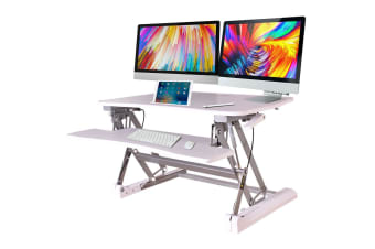 AVANTE Height Adjustable Desk Riser Sit/Stand Office Computer Desk