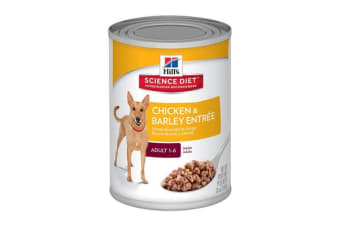 Hills Science Diet Adult Chicken Barley Cans - 1 Can