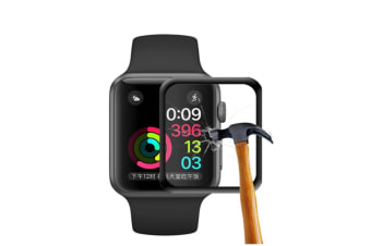Apple Watch Screen Protector Scratch Resistant Tempered HD Film Glass
