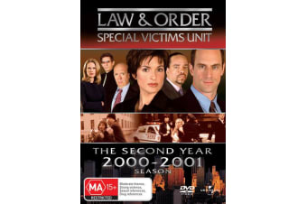 Law and Order Special Victims Unit Season 2 DVD Region 4