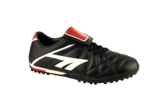 Hi-Tec Childrens Boys Astro League Pro Series Football/Rugby Trainers (Black/White/Red) (1 UK)