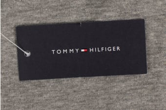 Tommy Hilfiger Men's Modern Essentials Flag Sweatpants (Grey Heather)