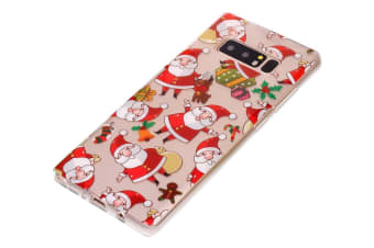 For Samsung Galaxy Note 8 Case Santa Claus Stylish Durable Protective Cover