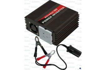 ALLWAYS 300 WATT INVERTER 12 VOLT TO 240 VOLT SINE WAVE CARAVAN BOAT CAMPING