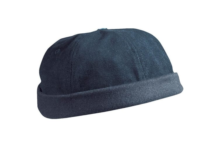 Myrtle Beach Adults Unisex 6 Panel Chef Cap (Navy) (One Size)