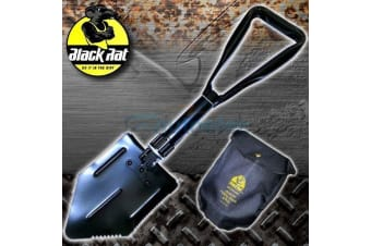 RECOVERY FOLDING SHOVEL & PICK TOOL BLACK RAT 4WD 4X4 CAMPING SPADE OFF ROAD NEW