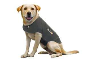 ThunderShirt Dog Anxiety Jacket Grey - M