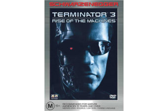 Terminator 3 Rise of the Machines DVD Region 4