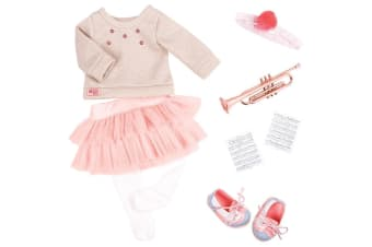 Our Generation Fashion Notes Doll Clothes