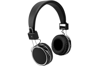 Avenue Midas Touch Bluetooth Headphones (Solid Black)
