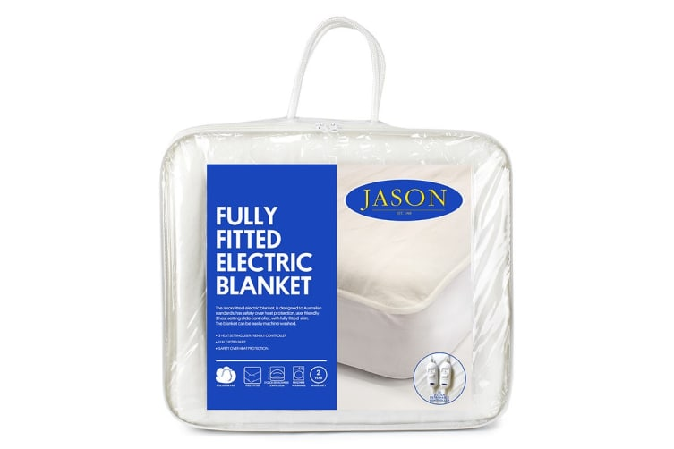 Jason Fully Fitted Machine Washable Electric Blanket (Queen Bed)