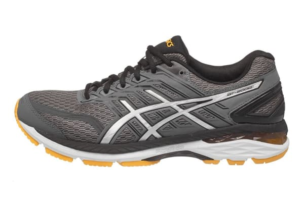 ASICS Men's GT-2000 5 Running Shoe (Carbon/Black/Gold Fusion, Size 7.5)