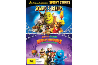 Scared Shrekless Spooky Story Collection DVD Region 4