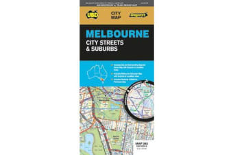 Melbourne City Streets & Suburbs Map 362 6th ed (waterproof)