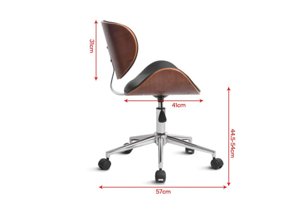 Ergolux Siena Wooden Office Chair