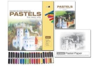 Pastels - The Easy Way : Discover the Artist within You, by Phillip Berrill