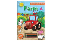 Activity Stencil Books - Farm - Colouring & Activity