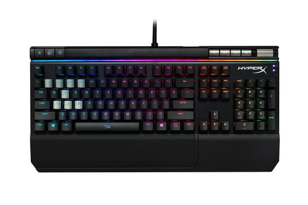 HyperX Alloy Elite Mechanical RGB LED Gaming Keyboard (Cherry MX Red)