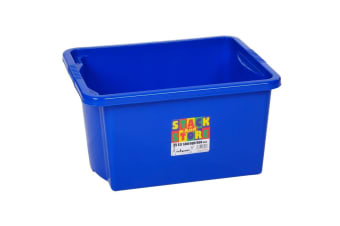 Wham Stack And Store Box (Blue) (35L)