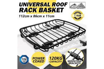 SAN HIMA SAN HIMA Universal Steel Roof Rack Basket Car Luggage Carrier Steel Vehicle Cargo